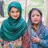 Friends from the village of Kartse Khar in Suru valley near Kargil, India
