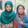 Friends from the village of Kartse Khar in Suru valley near Kargil, India