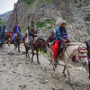 Route via Baltal to Amarnath, Kashmir, India