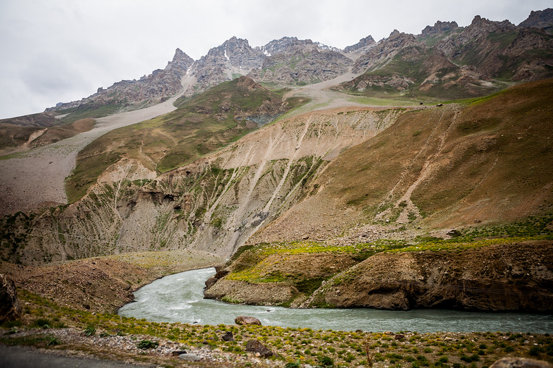 Zoji la, the mountain pass on the Srinagar Leh highway, connecting Kashmir to Ladakh