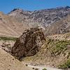 Landscape around Bardan Monastery, Zanskar, India