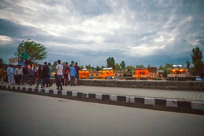 Boulevard Road, Srinagar, Kashmir, India