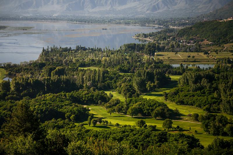 Ariel view from Pari Mahal, Srinagar, Kashmir, India