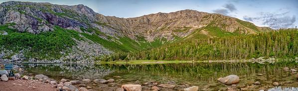 Chimney Pond Panorama
