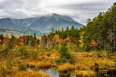 Katahdin from Dacey Pond Road