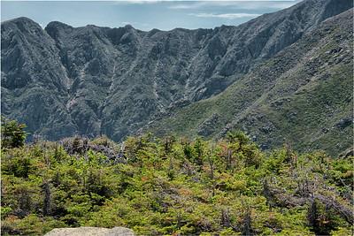 Knifes Edge from Hamlin Peak