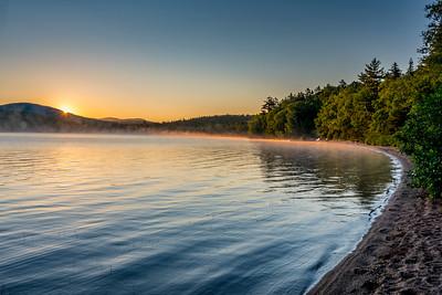Katahdin Lake sunrise