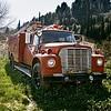 Πυροσβεστικό  Όχημα - κατάληψη Μονής Εσφιγμένου