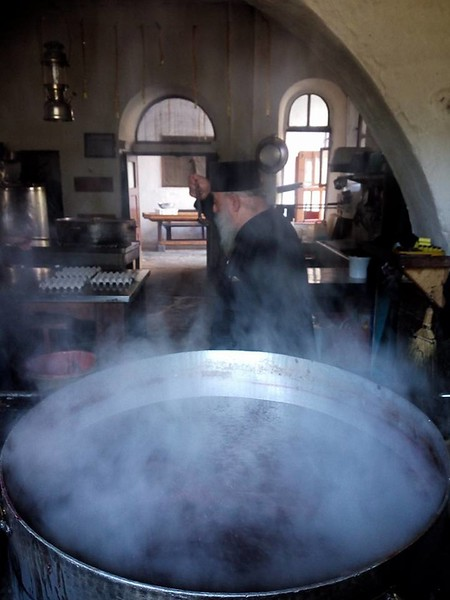 Οινοποιείο - κατάληψη Μονής Εσφιγμένου
