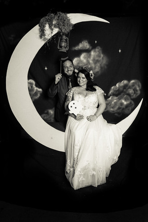 Kate & Daryl's Wedding Moonbooth!