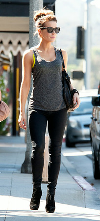 Kate Beckinsale relaxes in Brentwood