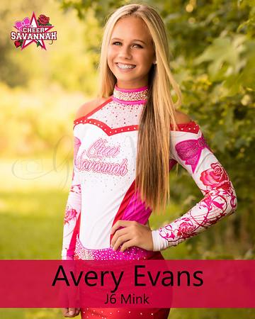 Avery Evans (J6 Mink)