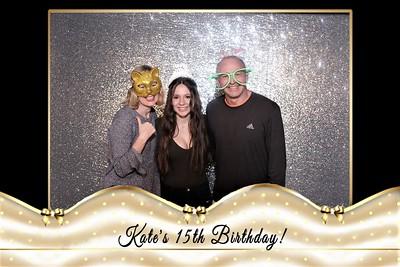 kate's 15th birthday
