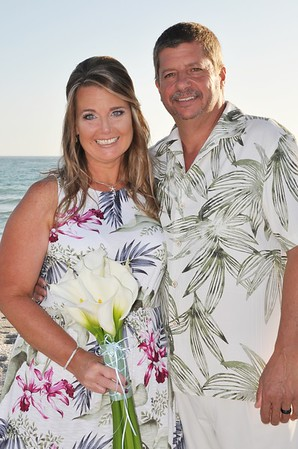 Wedding at Sandpiper Inn, LongBoat Key, FL
