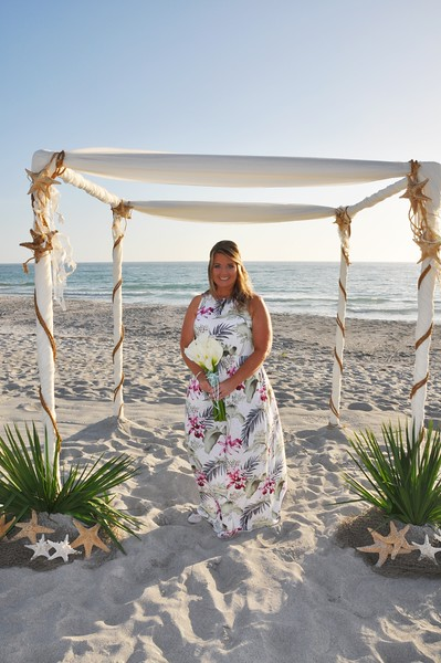 Wedding at Sandpiper Inn, LongBoat Key, FL