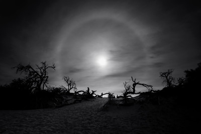 Death Valley Sundog