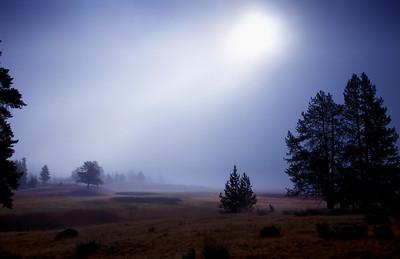 Yellowstone Dawn