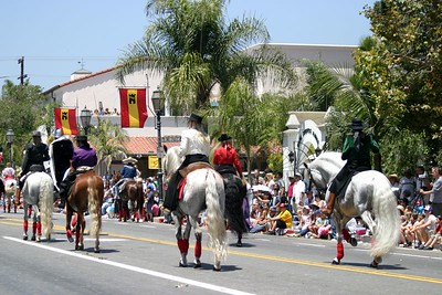 The Santa Barbara Spanish Parade, August 2004