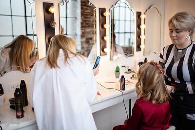 Kathryn getting ready K&M-18