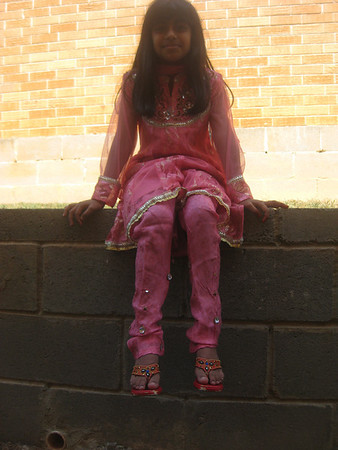 Kathy at Azalea for Eid