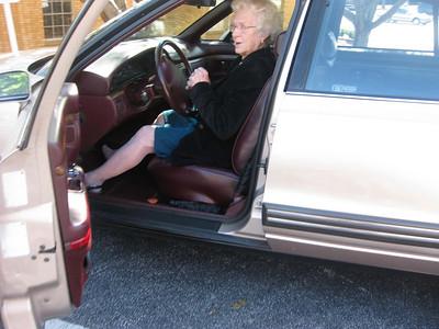 Kathy driving pix--Mountain Park