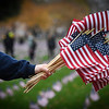 Veteran's Day Flag Planting