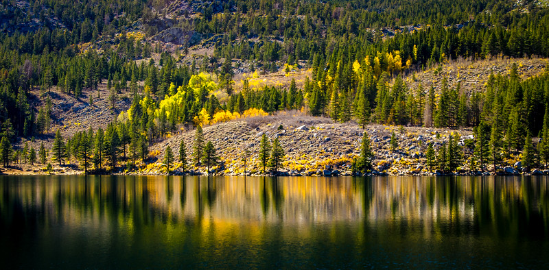Grant Lake in the Fall