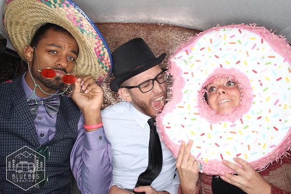 We had so much fun snapping pics at Katie and Brett's special day. Guests really enjoyed the PhotoSwagon and made the best of it as you can see! To see more epic snaps from this day, visit the gallery at www.findmysnaps.com/Katie-Brett  Want to book the PhotoSwagon or one of our stylish Open-Air Booths at your next event? Visit www.bluebuscreatives.com to learn more.