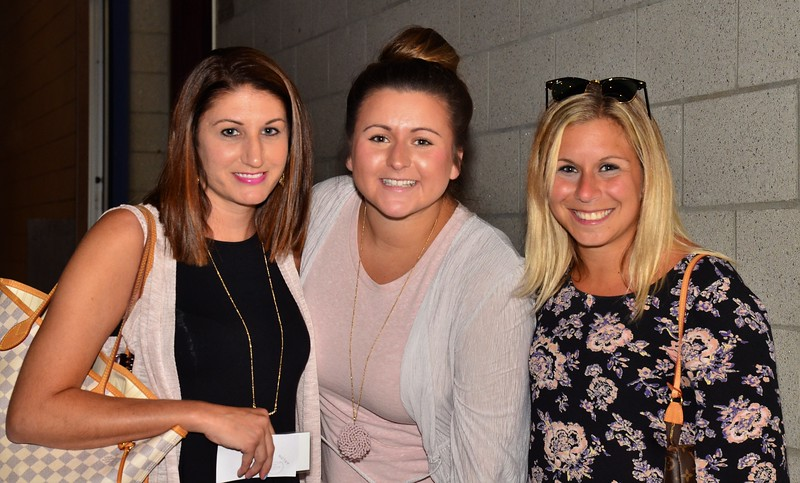 Danielle Hall, Kara Vetere and Paige Manacek  were three of many Co-Workers of Katie LaBelle who attended her Memorial on Sunday at Monty Tech.