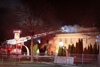 Building Fire - 555 Madison Ave, Bridgeport, CT - 3/4/2018