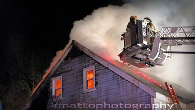 Structure Fire - 165 West St, Seymour, CT - 4/20/17