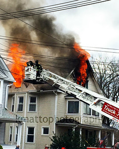 Structure Fire - 55 Burke St, Ansonia, CT - 1/1/16