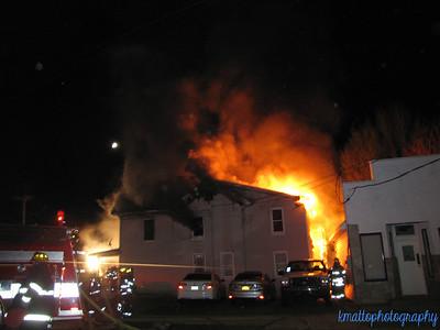 Structure Fire - Hodge & Platt St, Ansonia, CT - 4/17/16
