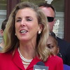 Katie McGinty At Press Conference In Philadelphia, PA