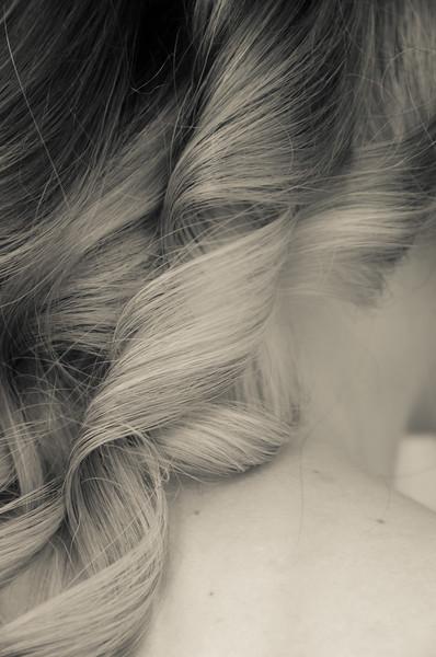 gold, hair