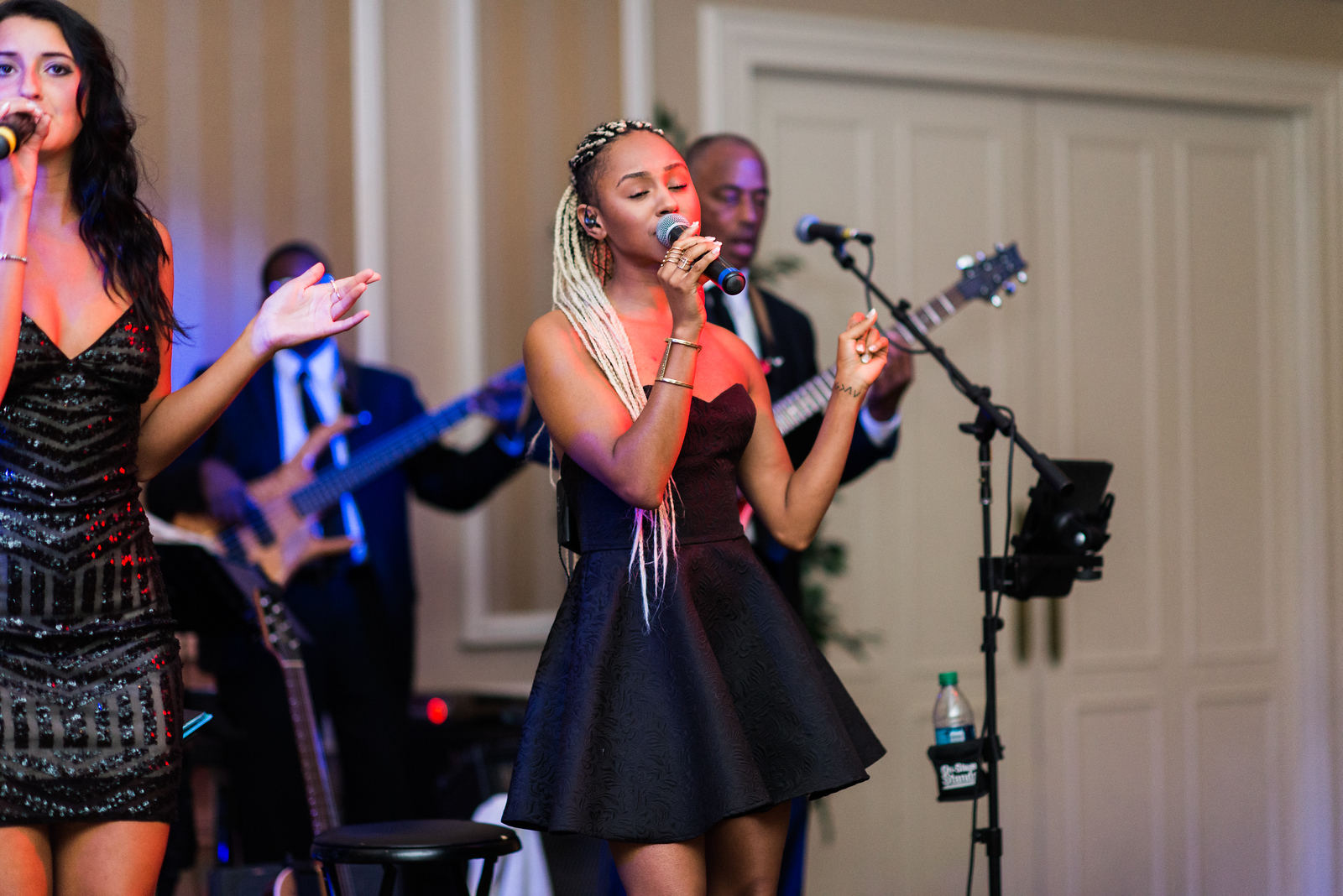 The uptown band was AMAZING at macy & tim's wedding - @uptown band