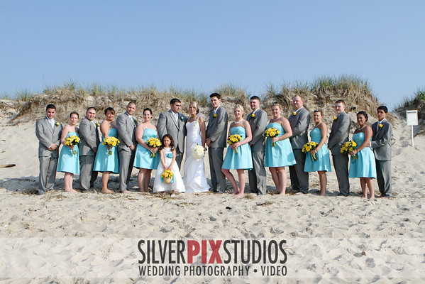 Formals Bridal Party and Family