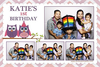 Katie's 1st Birthday (Fusion Photo Booth)