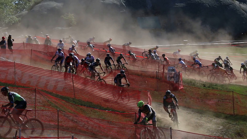 Gloucester Cyclocross, Dust in the Sram Chicanery.