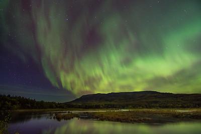 Brooks River Aurora