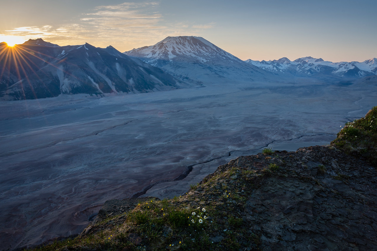 Dawn Over the Valley of Ten Thousand Smokes