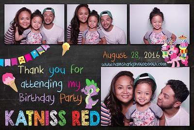 Katniss Red's 2nd Birthday