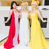 Sailor Mars, Princess Serenity, and Sailor Venus