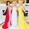 Sailor Mars, Princess Serenity, and Sailor Venus