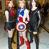 Black Widow, Captain America, and Winter Soldier