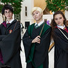 Harry Potter, Draco Malfoy, and Hermione Granger