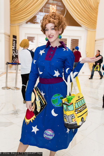 Ms. Frizzle and Liz