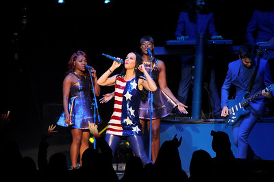 Katy Perry rock the house at The Mann Music Center for the GOTV for Hillary Rodham Clinton in Philadelphia, PA