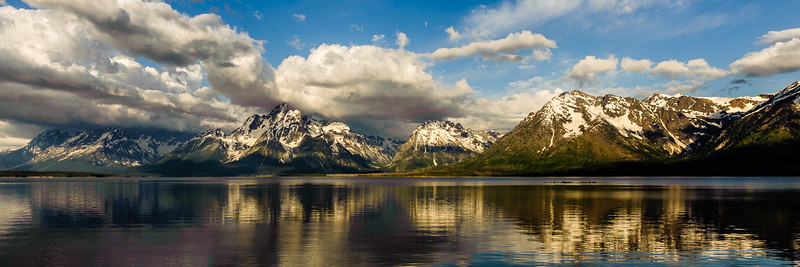 Teton Range Refections