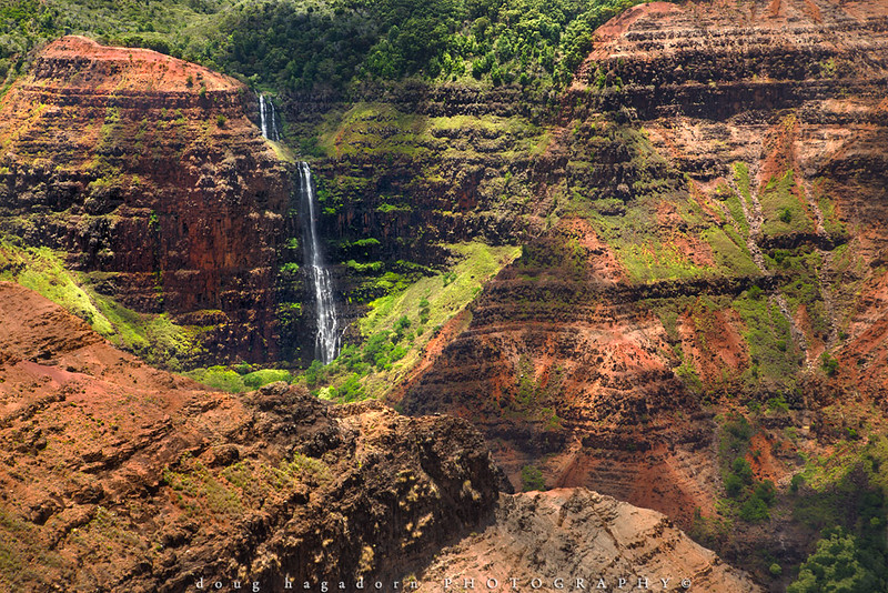 Waimea Canyon Waterfalls (#0531)